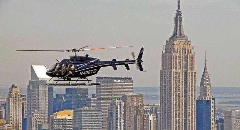 3 Day Sightseeing Pass & New Yorker Helicopter Tour